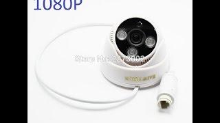 Обзор купольной IP камеры с поддержкой питания по POE HAIWVISION 1080P