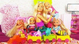 Rodzinka Barbie - Kłótnia w przedszkolu! Kaja idzie do przedszkola?  bajki dla dzieci