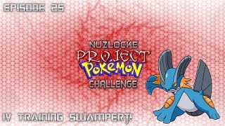 "Roblox Project Pokemon Nuzlocke Challenge - #25 ""IV Training Swampert!"" - Commentary"