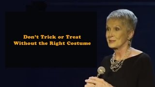 jeanne robertson don t trick or treat without the right costume