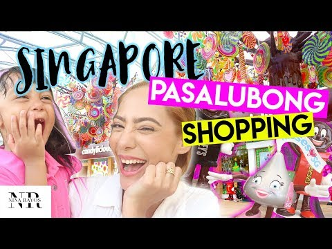 PASALUBONG SHOPPING AT PASYAL SA RESORTS WORLD SENTOSA SINGA