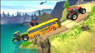 Tractor Pull Simulator Drive: Tractor Games 2020 - Best Android Gameplay screenshot 1