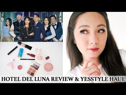 [k-drama-time-ep.1]-hotel-del-luna-review-+-yesstyle-kbeauty-haul-grwm