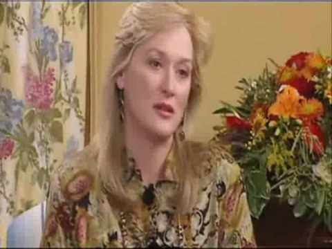 meryl streep promoting the house of the spirits youtube. Black Bedroom Furniture Sets. Home Design Ideas