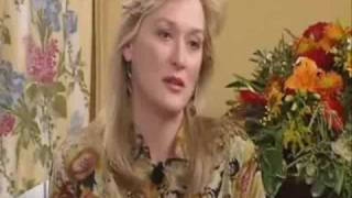 Meryl Streep Promoting The House of the Spirits :)