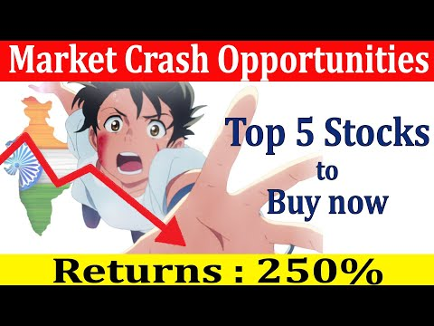 Best Shares to BUY in Market Crash |Stock Market Crashed today| Nifty Sensex Crashed due to Lockdown