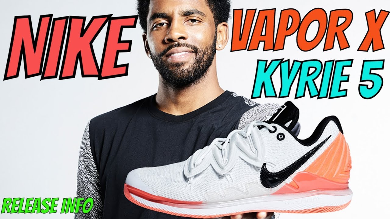 d921a60604e2 THE KYRIE IRVING   NICK KYRGIOS COLLAB SNEAKER NIKE ZOOM VAPOR X ...