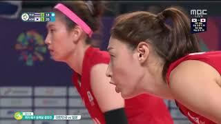 🥉동메달🥉2018 자카르타-팔렘방 아시안게임 여자배구 동메달전 《대한민국vs일본》