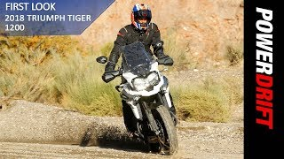 2018 Triumph Tiger 1200 : First Ride : PowerDrift