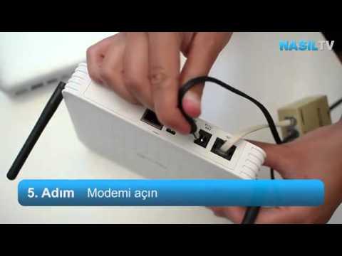 ADSL Modem nasıl kurulur?
