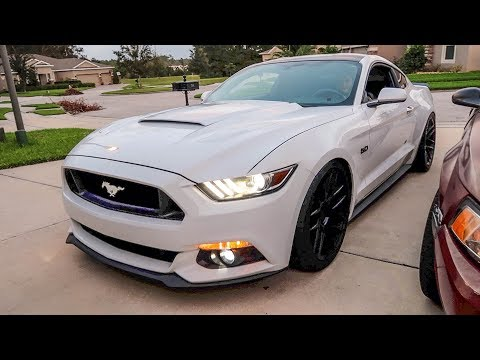 Crazy Loud Supercharger whine! Whipple Supercharged S550 WOT Pulls Sound Tube Mod