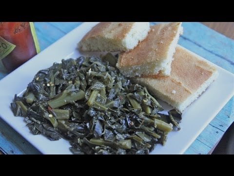 Vegetarian Southern Collard Greens Recipe