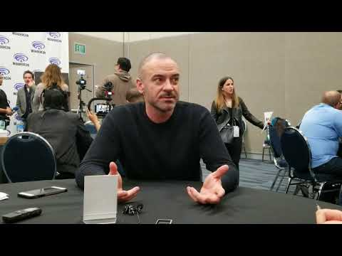Alan van Sprang at the Star Trek Discovery Roundtable at WonderCon 2018 for Bleeding Cool
