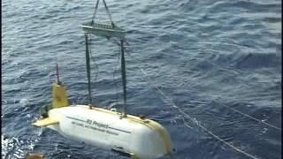 明神礁2005年自律型海中ロボット展開