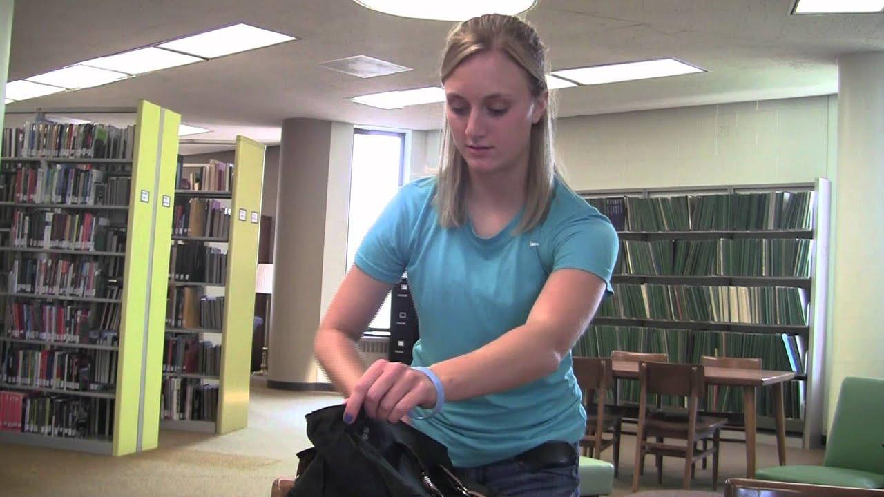 College Dorm Room Security Essentials: KYSS Bag (Locking Safe College Bag) Part 60