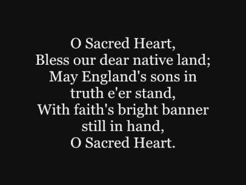 Catholic Hymnal: O Sacred Heart -  Hymn to the Sacred Heart of Jesus