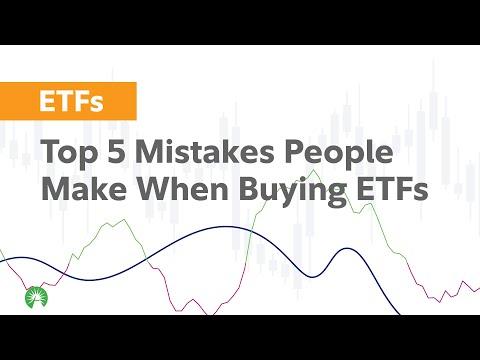 5 Mistakes Investors Make with ETFs | Fidelity