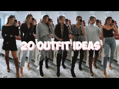 [VIDEO] - THANKSGIVING/FALL OUTFIT IDEAS | 20 Outfits in 3 Minutes | MELINDA BROOKE 1