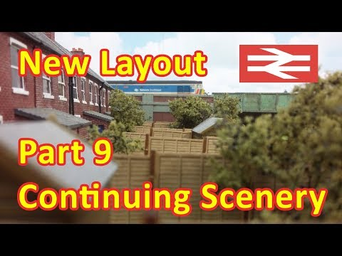 New Layout Build – Scenery surrounding the car auction