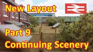 New Layout Build - Scenery surrounding the car auction