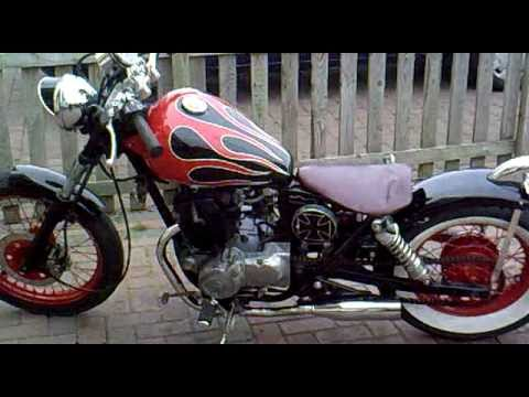 Honda Rebel 125 Homemade Custom Bobber