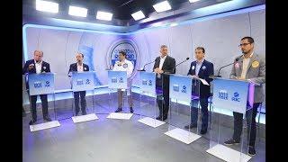 Debate com candidatos ao governo de SC na RICTV -  perguntas entre os candidatos