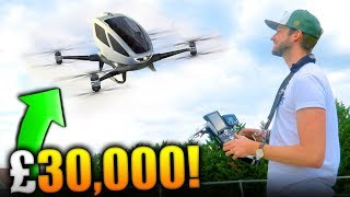 FLYING A £30,000 DRONE!
