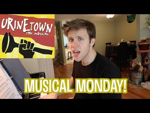 COP SONG from Urinetown the Musical | Musical Monday!