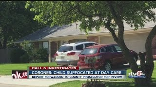 Coroner: Child suffocated at day care