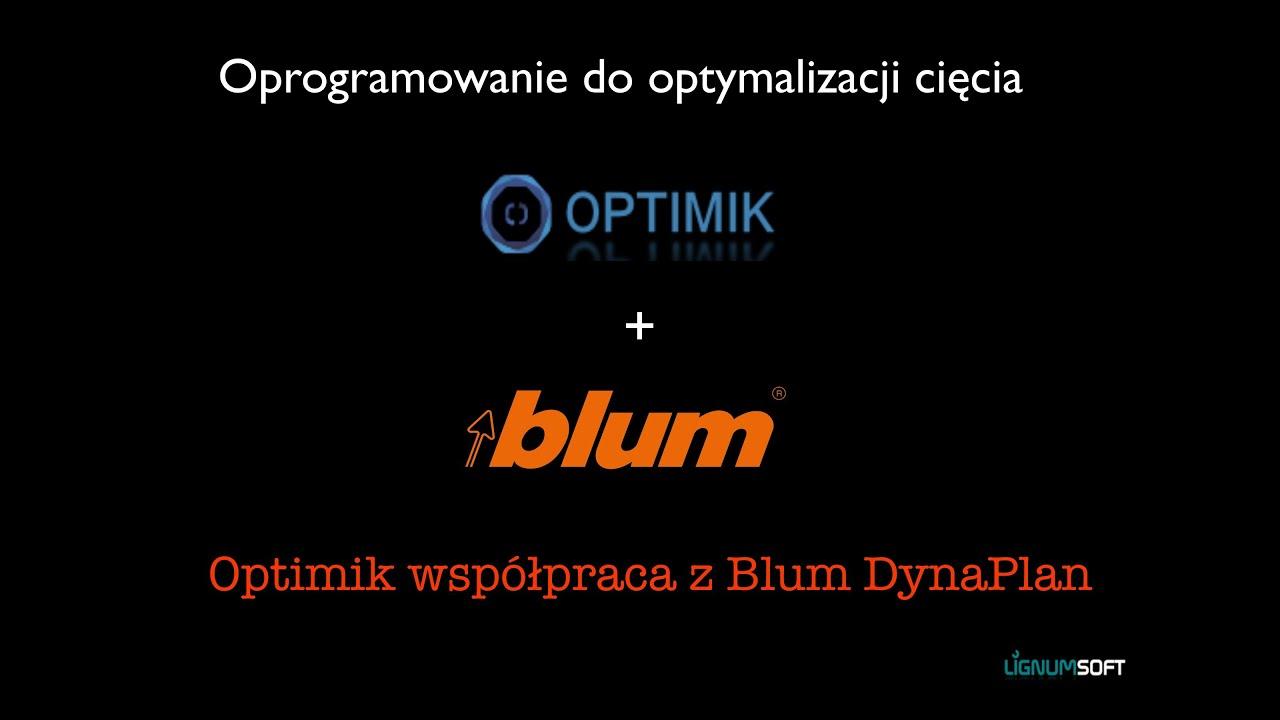 Optimik współpraca z Blum DynaPlan