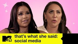 The Social Media Episode | That's What She Said