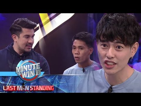 Minute To Win It: Fumiya, may nakakatawang reaksyon sa tanong ni Luis