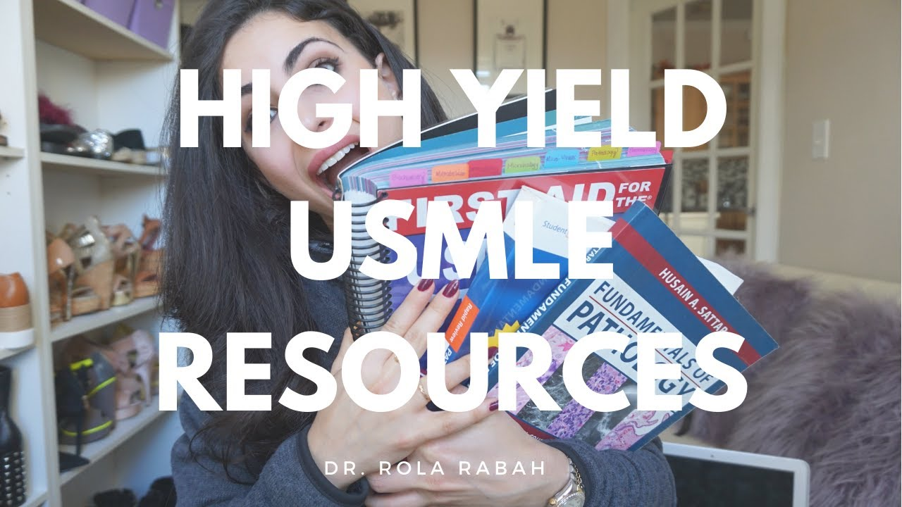 USMLE high yield study resources