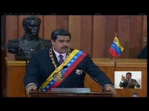 Nicolas Maduro  Mensaje anual a la Nacion