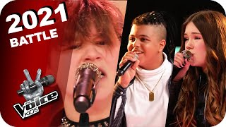 Alphaville / Guao Apes - Big In Japan (Emily/Rockzone/Ibrahim) | The Voice Kids 2021 | Battles