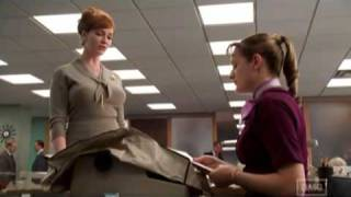 "MAD MEN - ""You're the dessert!"" 1.02"