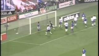 「日本×インド」2006年W杯 1次予選 (第3戦) ハイライト