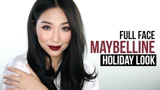 MAYBELLINE ONE BRAND MAKEUP TUTORIAL (Everyday Holiday) | Raiza Contawi