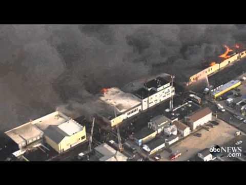 Seaside Heights NJ Boardwalk Fire
