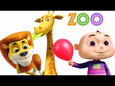 Five Little Babies Going To A Zoo   Five Little Babies Collection   Original Kids Songs