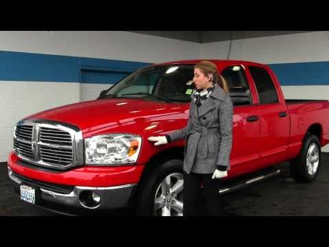 Virtual Walk Around Tour of a 2007 Dodge Ram 1500 SLT Big Horn at Milam Truck Country in Puyallup, W