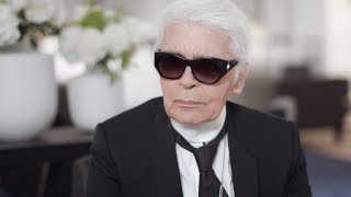 Karl Lagerfeld's Interview - Fall-Winter 2017/18 Haute Couture CHANEL show