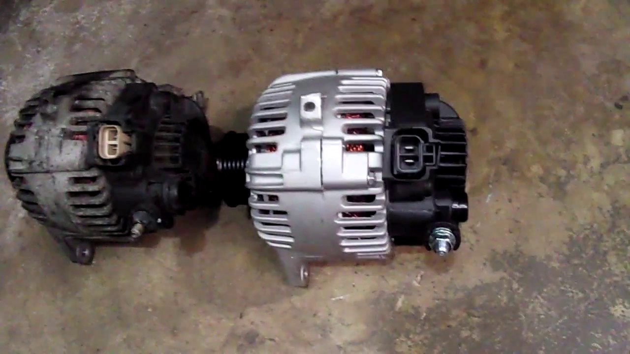 Replacing Alternator On Hyundai Sonata 2 7l 2005 At Home Diy