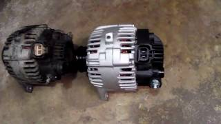 Replacing Alternator On Hyundai Sonata 2.7L 2005 At Home. DIY.