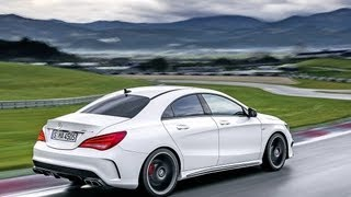 Mercedes CLA 45 AMG - Fahrbericht
