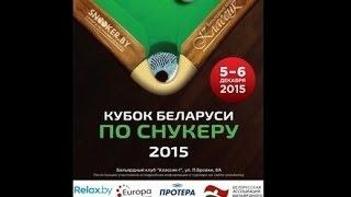 Первый сотенный брейк в Беларуси