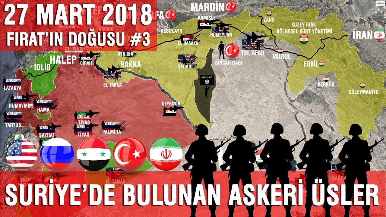 Suriye'deki Askeri Üsler | Fırat'ın Doğusu 3. Bölüm |