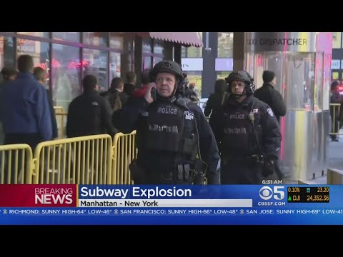 Suspect Arrested In NYC Subway Pipe Bomb Explosion