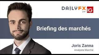 Briefing des marchés du 13 février 2020 - Indices - Forex - Brent - WTI - Bitcoin
