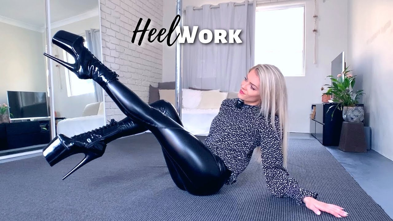 HEEL WORK TUTORIAL: My Top 5 Exercises & More Helpful Tips   Dancing in Extreme High Heels Made Easy